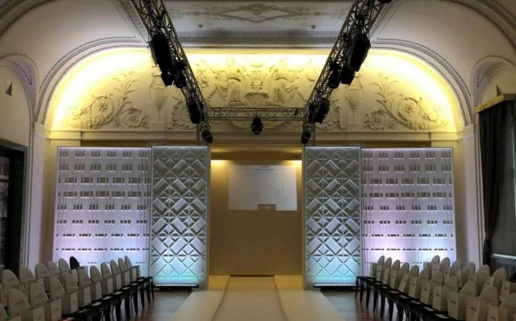 LOréal-Professionnel-Baltic-Bridal-Fashion-Show-event-decorative-panels-set-setfactory
